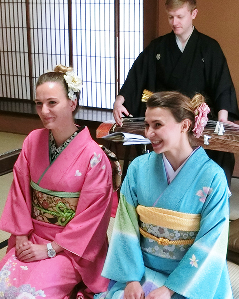 Japanese Traditional Cultural Exchange